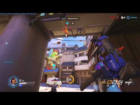 Overwatch Sombra Clip - Par for the course for Sombra