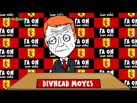 MOYES SACKED - INTERVIEW by 442oons ('Moyes Way' Song)