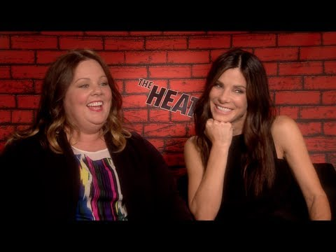 THE HEAT Interview: Sandra Bullock and Melissa McCarthy