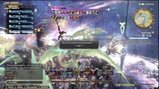 Final Fantasy XIV - Odin slashes an ENTIRE SERVER with Zantetsuken! [Hyperion]