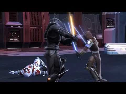Star Wars: The Old Republic Jedi Knight Gameplay HD