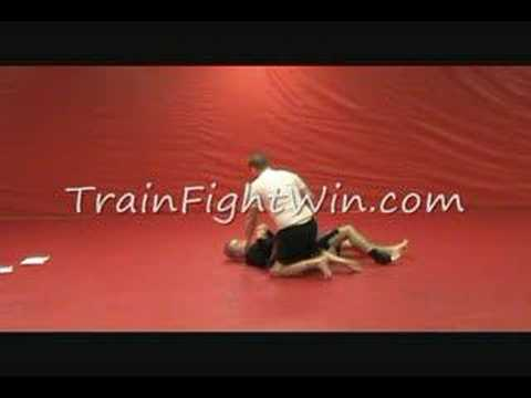 Double Under Escape from Knee on Chest