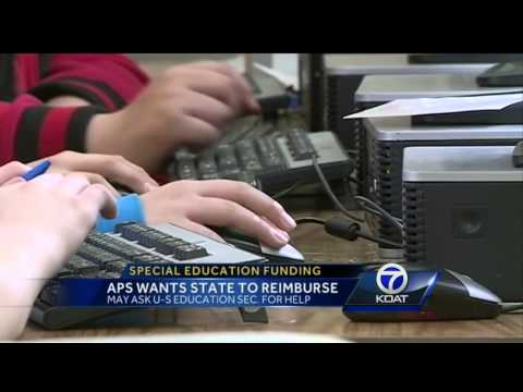 APS, NM Public Education Dept. clash over special education funding