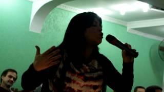 Vanilda Bordieri No Aniversário Do Pastor Elson Vila Nova