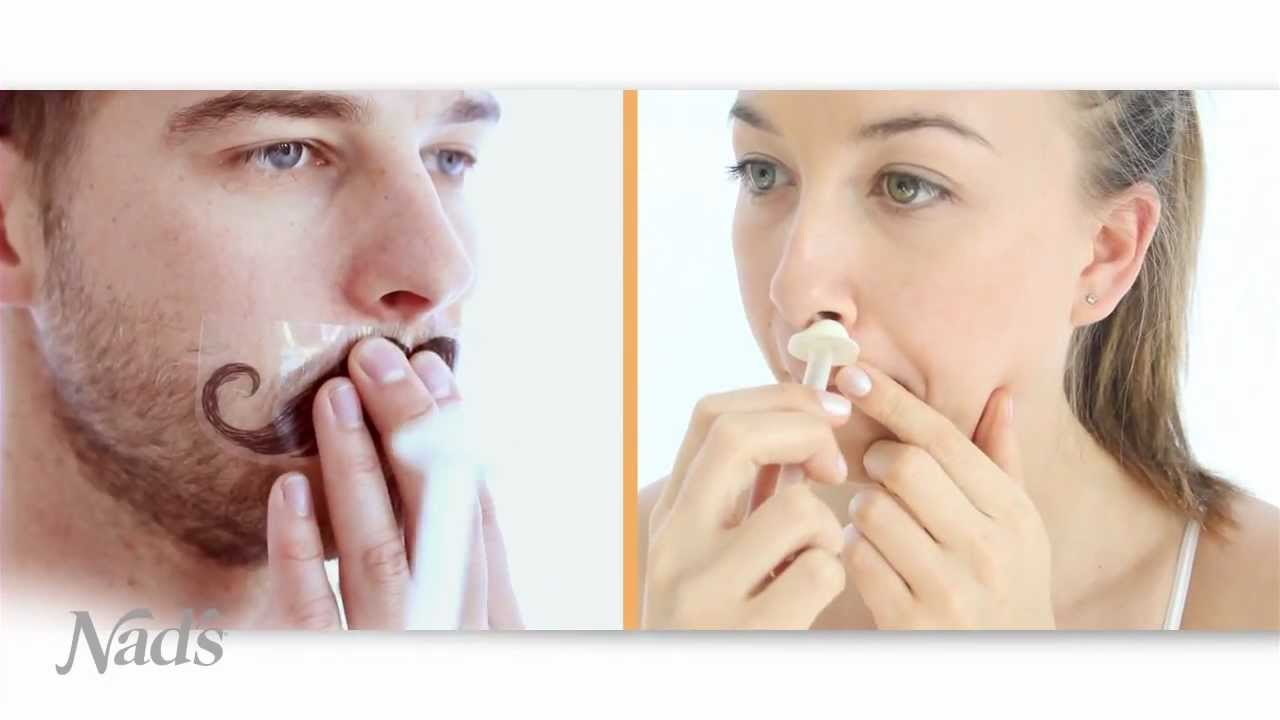 Nads Nose Wax Nose Hair Removal Youtube