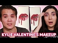 Trying Kylie Jenners Valentines Makeup With My Boyfriend • Saf   Tyler