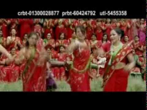 New Nepali Teej Song  JHUMKANA by KRISHNA BC, August 2011, full video