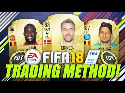 BEST WAY TO MAKE COINS RIGHT NOW ON FIFA 18! 🤑