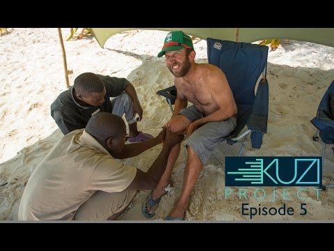 Poisonous African Spider Bite Sabotages SUP/Kitesurfing Adventure | KUZI Project, Ep. 5