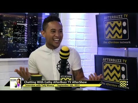 Tahj Mowry Interview | AfterBuzz TV's Chatting with Cathy | September 4th, 2013