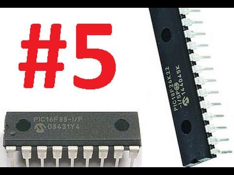 4 - Microcontroladores PIC - PORT e TRIS (parte1)
