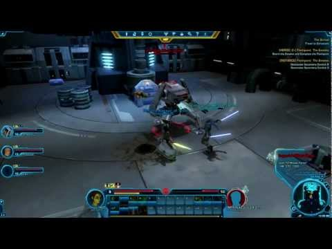 SWTOR Beta: Jedi Consular Gameplay (HD Group Gameplay)