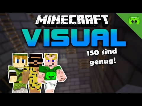 MINECRAFT Adventure Map # 50 - Visual Project 2 «» Let's Play Minecraft Together | HD