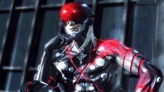 Metal Gear Rising Raiden VS Monsoon (Boss Fight Video Walkthrough)