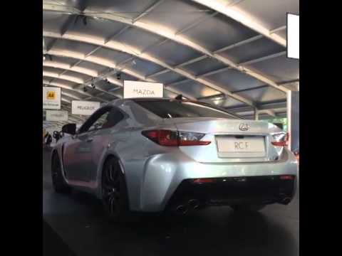 Revving the Lexus RC F V8 Engine