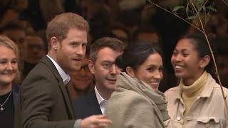 Prince Harry and Meghan Markle visit Brixton in London
