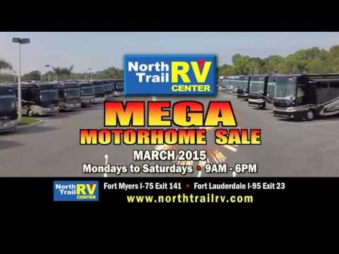 Mega Motorhome Sale March 2015