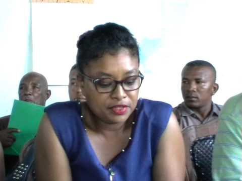 MADAGASCAR ELECTION LEGISLATIVE 2013-Point de Press Valencia MAHAJANGA II