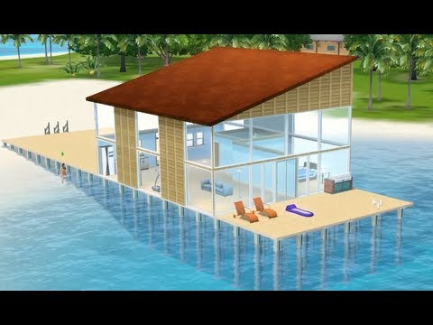 The Sims 3 - Building Property Over Water: Island Paradise (Patch 1.55)