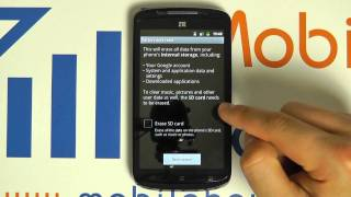 How To Reset/Factory Default ZTE Skate