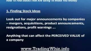 How To Pick Stocks Easy Stock Picking Technique (Pt.1
