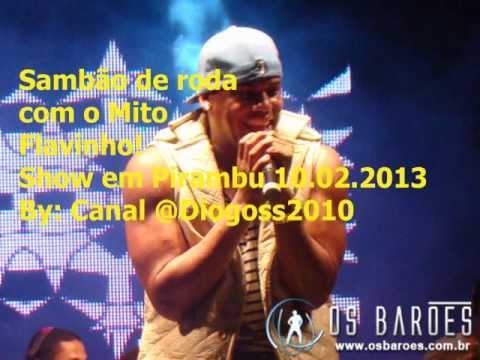 Samba de Roda - Flavinho e Os Barões - Pirambu-SE 10.02.2013