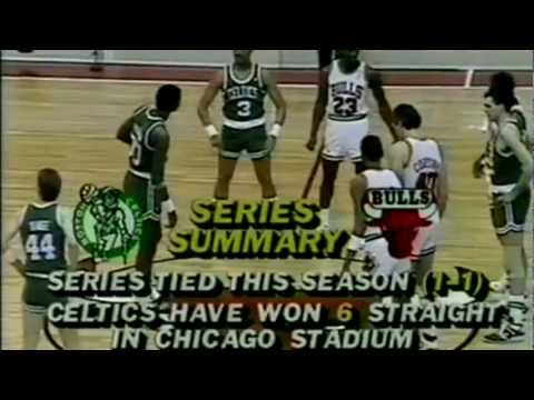 Chicago Bulls vs Boston Celtics | 3/18/88 | Michael Jordan 50 Pts vs Larry Bird | HD