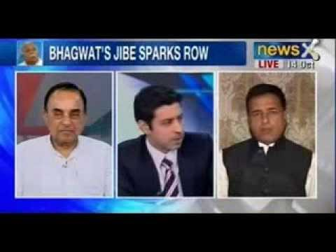 India Debates : Will Bhagwat's political outburst force BJP to toe the Hindutva line?
