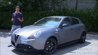 Test Drive Alfa Romeo Giulietta Quadrifoglio Verde My 2014