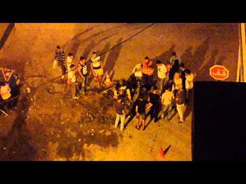 ساكنة حي سيدي عابد تستنكر قيام شركة بإصلاحات ليلا