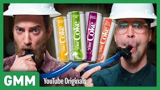 New Diet Coke Flavor Taste Test I STUFF WE TRY THAT YOU CAN'T BUY