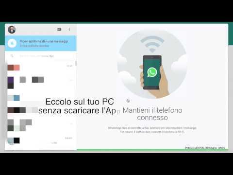 382WhatsApp Web come installarlo sul PC in 30 secondi
