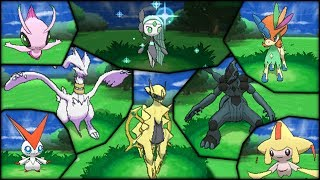 Pokémon X And Y Shiny-Locked Legends