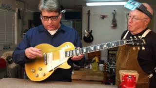 Watch the Trade Secrets Video, How to notch the saddles on your Les Paul