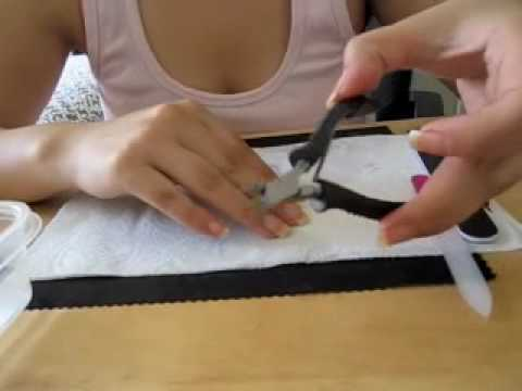 Como hacer una manicura basica...