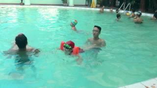 Dạy Bơi - Kỹ thuật bơi ếch cơ bản