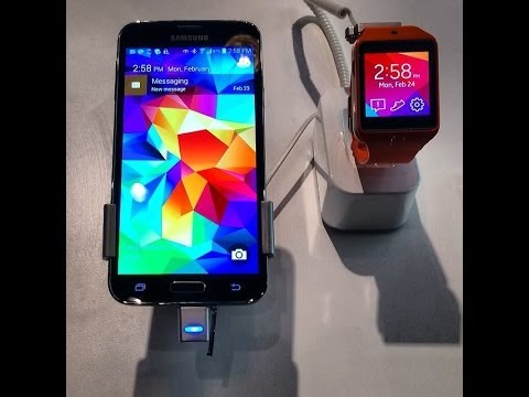 Samsung Galaxy S5 show at the Mobile World Congress 2014 | Barcelona, Spain