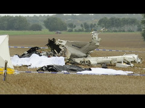 Skydivers killed in Belgium plane crash