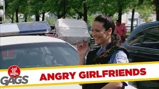 Instant Accomplice – Angry Girlfriends Slash Sexy Cop's Tires