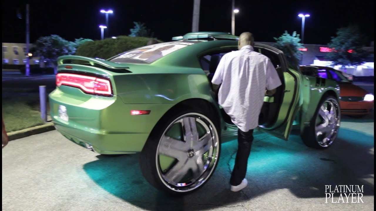 King Kong Dodge Charger On 32 Inch Dub Ham Youtube