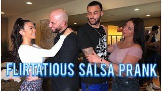 Flirtatious Salsa Prank