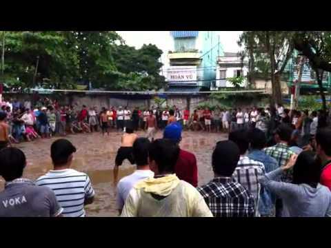 Bong chuyen Cau Tre 3v3 Trong Chim + Dang