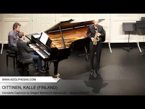 Dinant2014 OITTINEN Kalle Concierto Capriccio by Gregori Markovich Kalinkovich Version DINANT