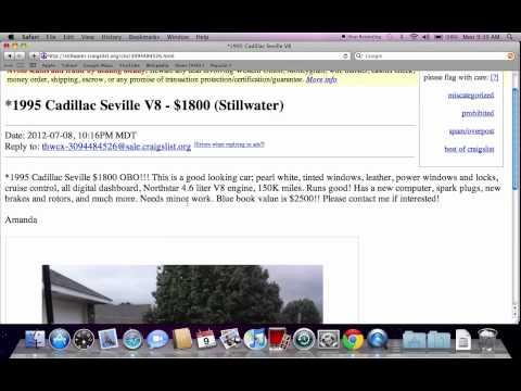 Craigslist Stillwater Oklahoma Cars For Sale