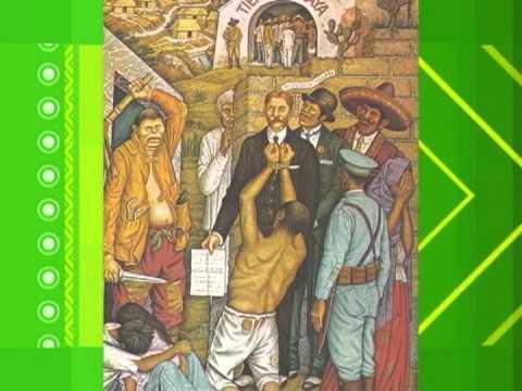 Porfiriato e inicio de la Revolución Mexicana 1910.