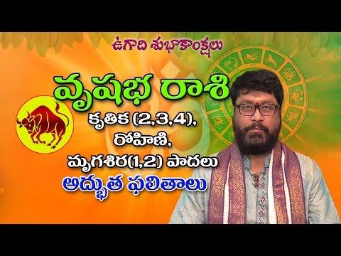 వృషభ రాశి | Vrushaba Rasi | Hevilambi | Ugadi Rasi Phalalu | Telugu Astrology | Rasi Phalalu 2017