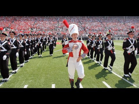 The One Out Front - Ohio State Drum Major David Pettit
