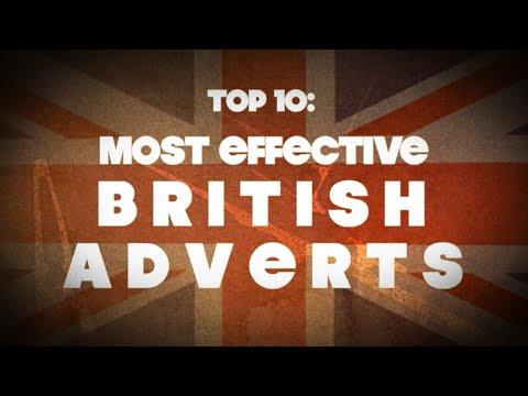 TOP 10: MOST EFFECTIVE BRITISH ADVERTS