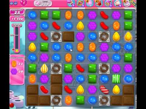 How to beat Candy Crush Saga Level 319 - 1 Stars - No Boosters - 49