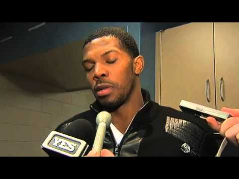 Joe Johnson talks about the Brooklyn Nets win over the Denver Nuggets